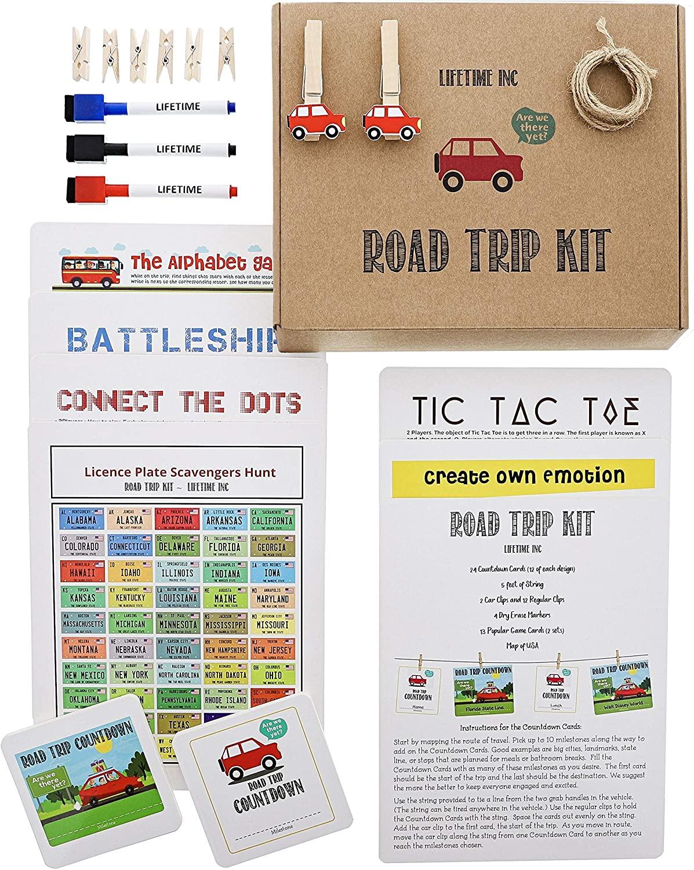 Road Trip Game Kit