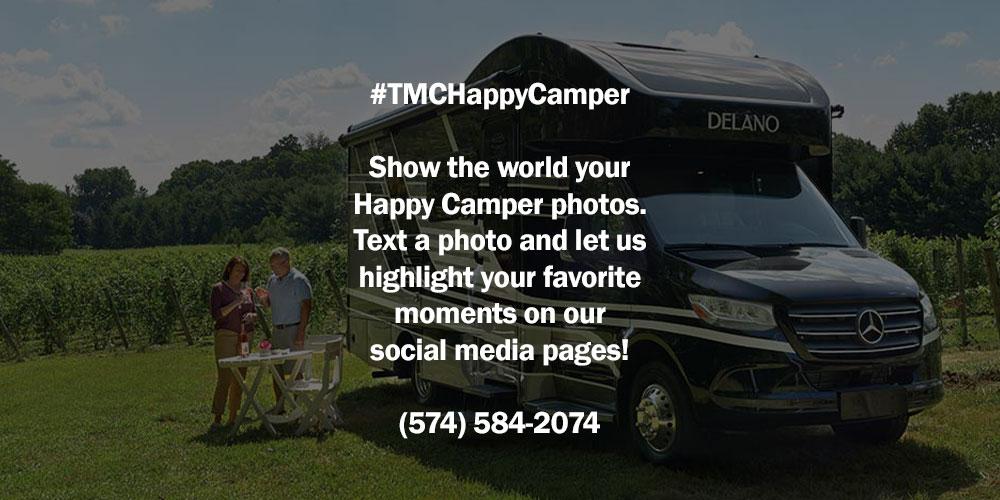 #TMCHappyCamper