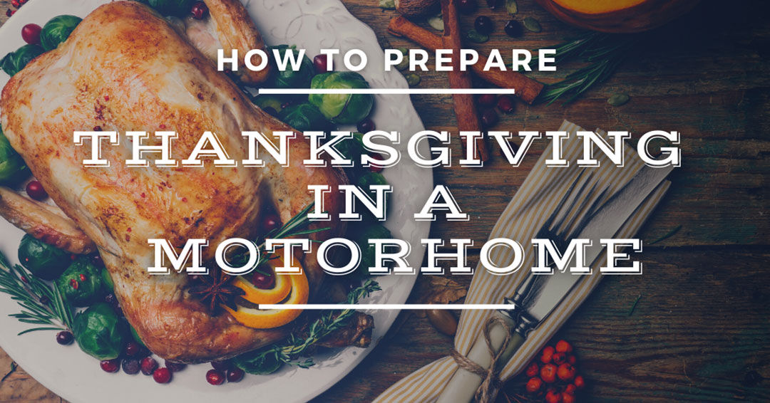 thanksgiving in a motorhome