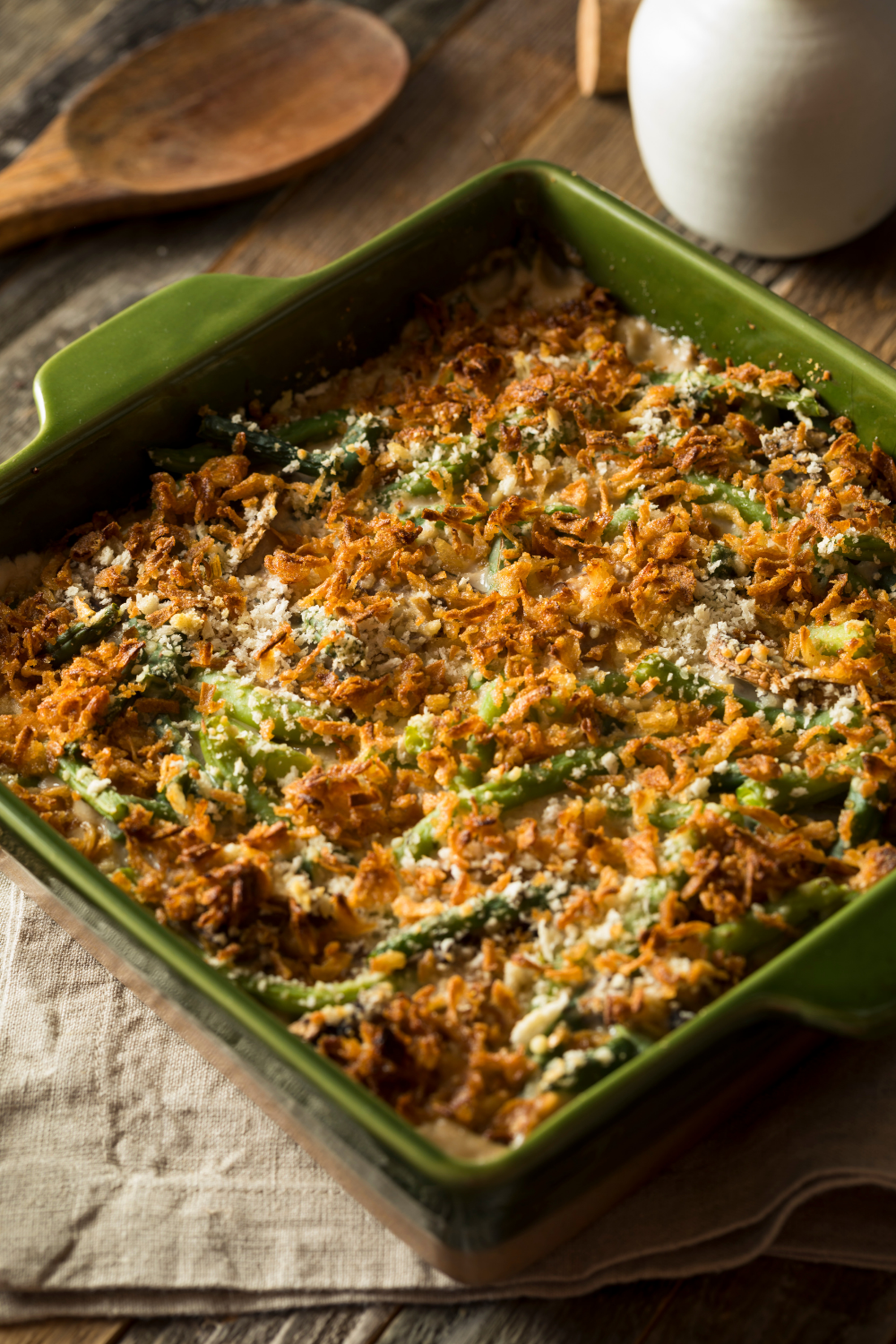 rv thanksgiving sides green bean casserole