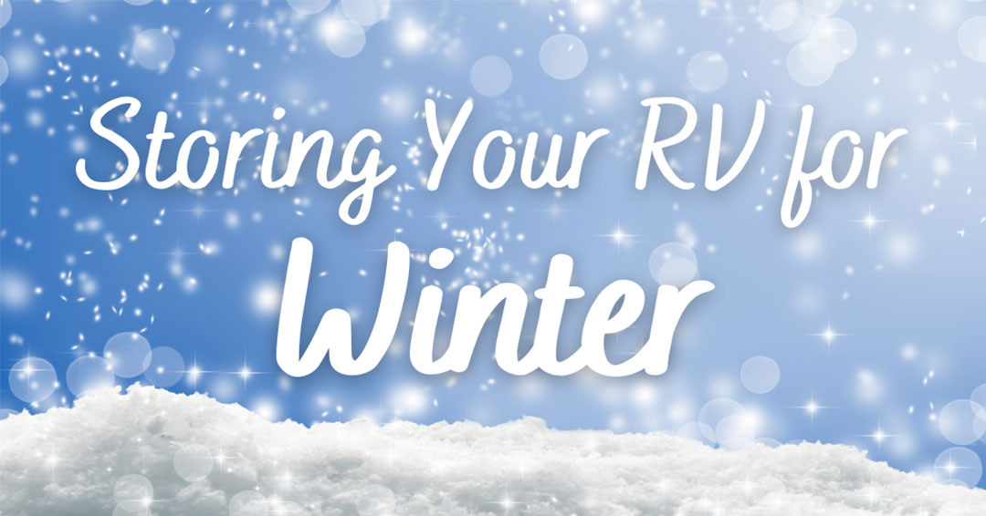 Storing an RV for Winter