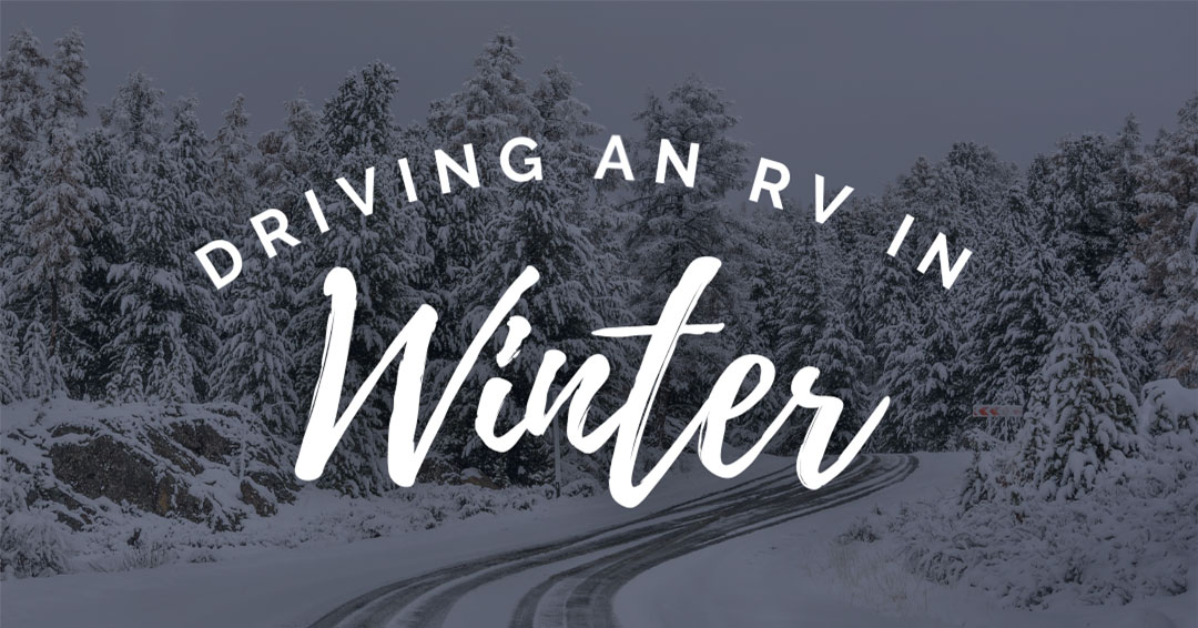 Driving an RV in Winter