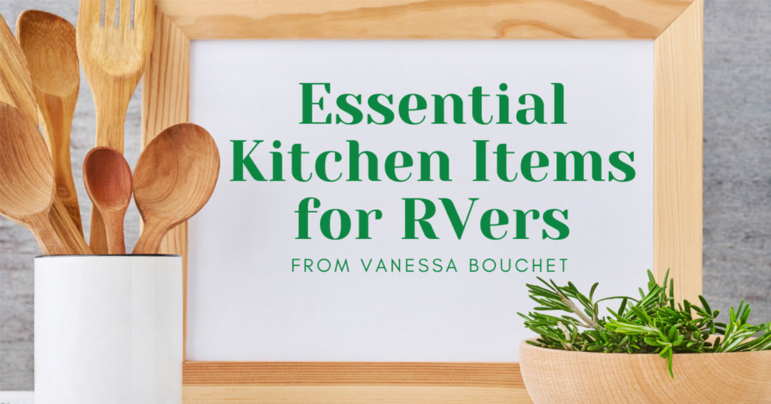 essential kitchen items for rvers