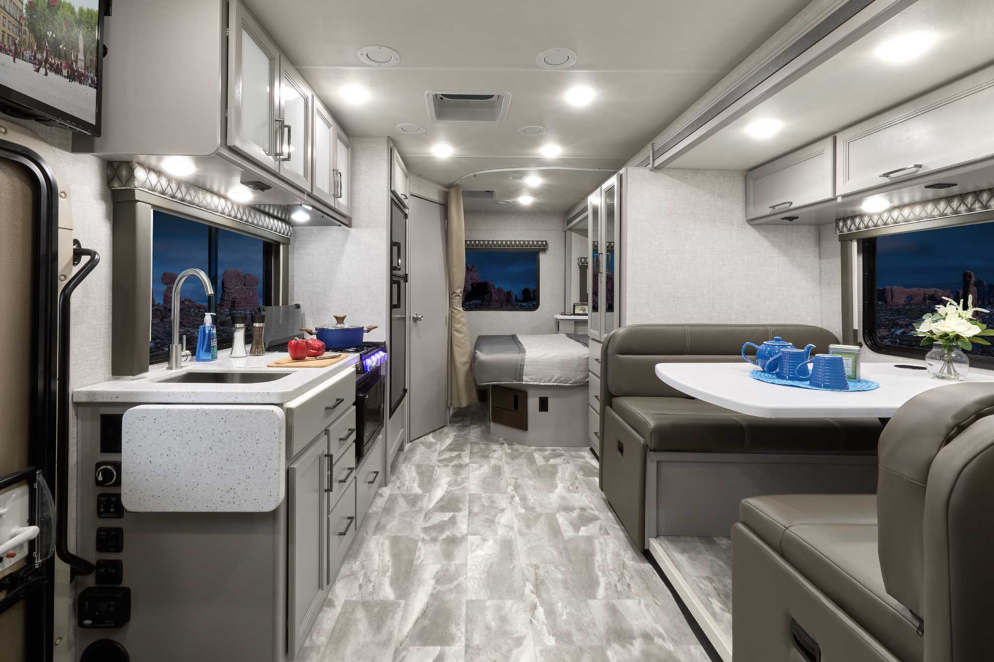 Quantum Sprinter Van Living Area