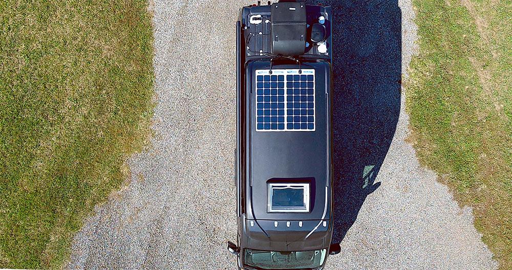 camper van solar power