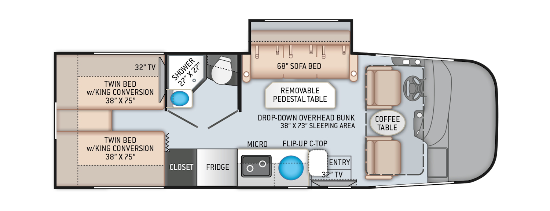 Vegas Ruv Floor Plans
