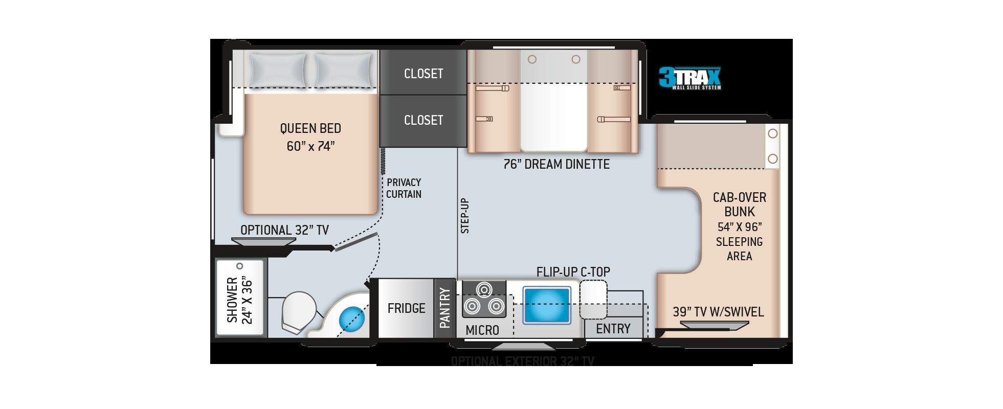Floor Plans Four Winds 24f