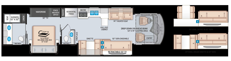 Floor Plans Venetian F42