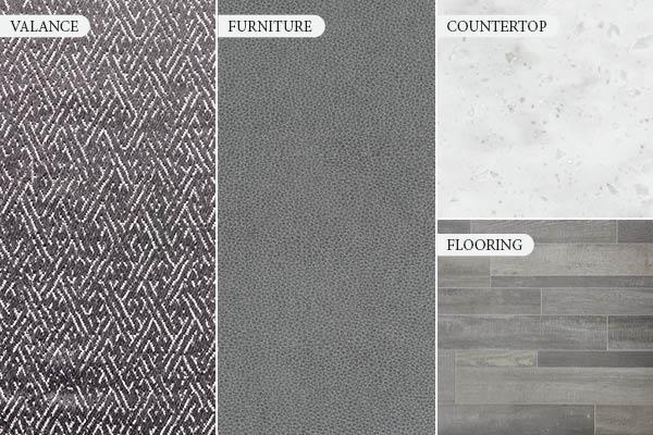 Metallic Gray Decor