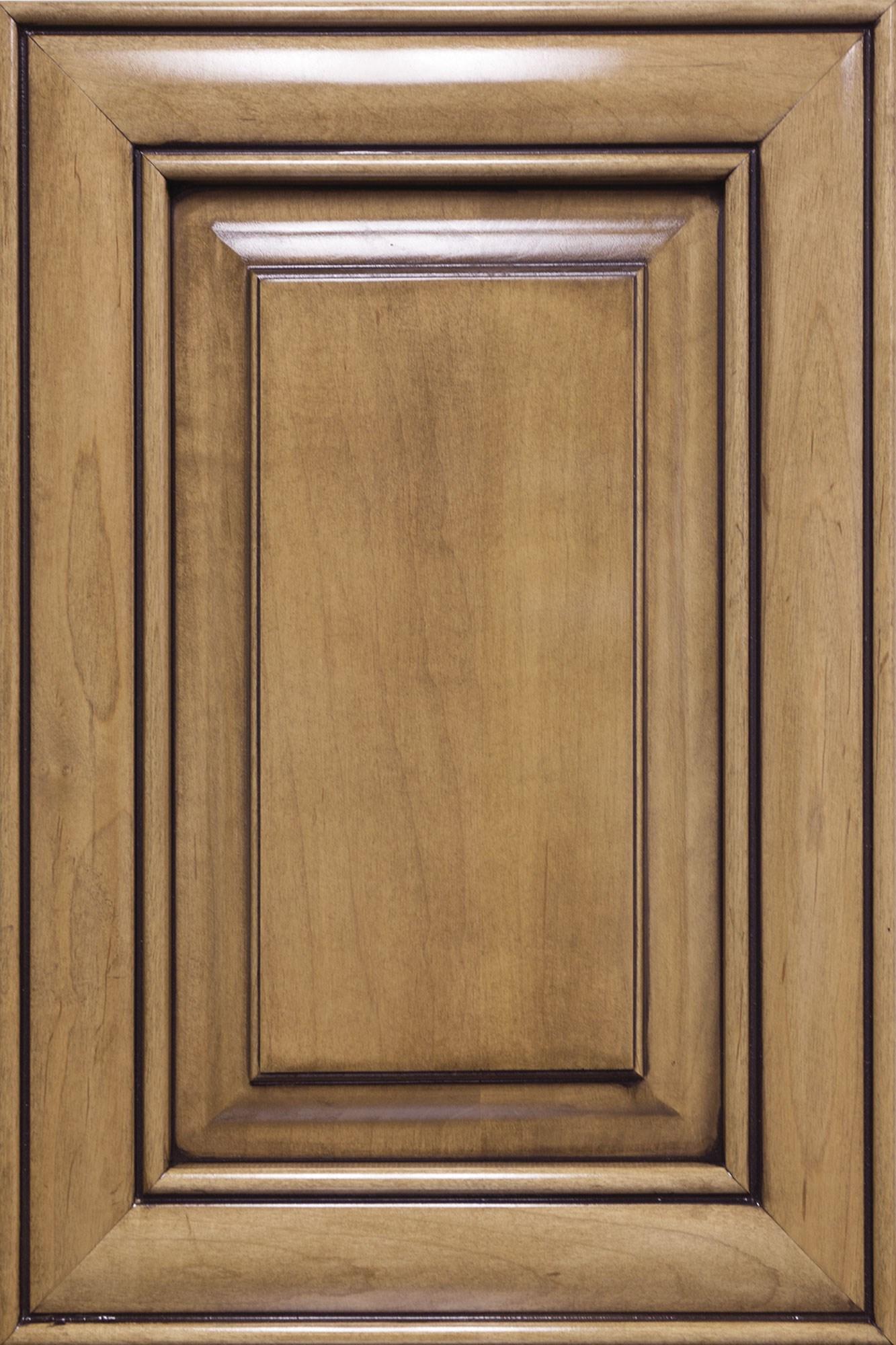 High Gloss Glazed Monterey Maple