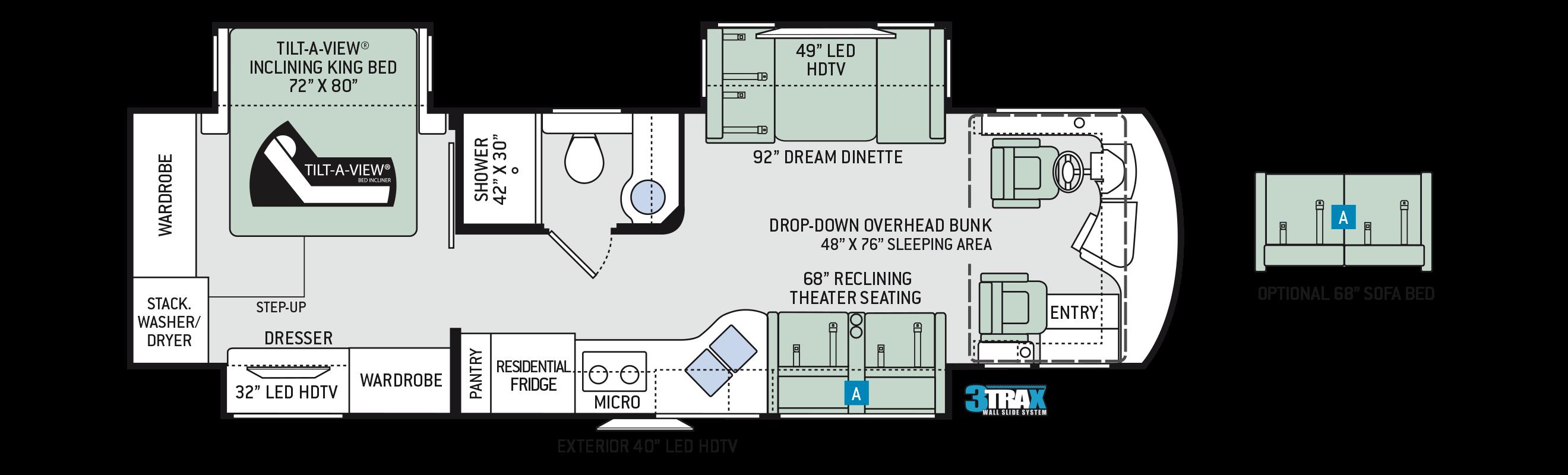 2018 Aria 3401 Floor Plan