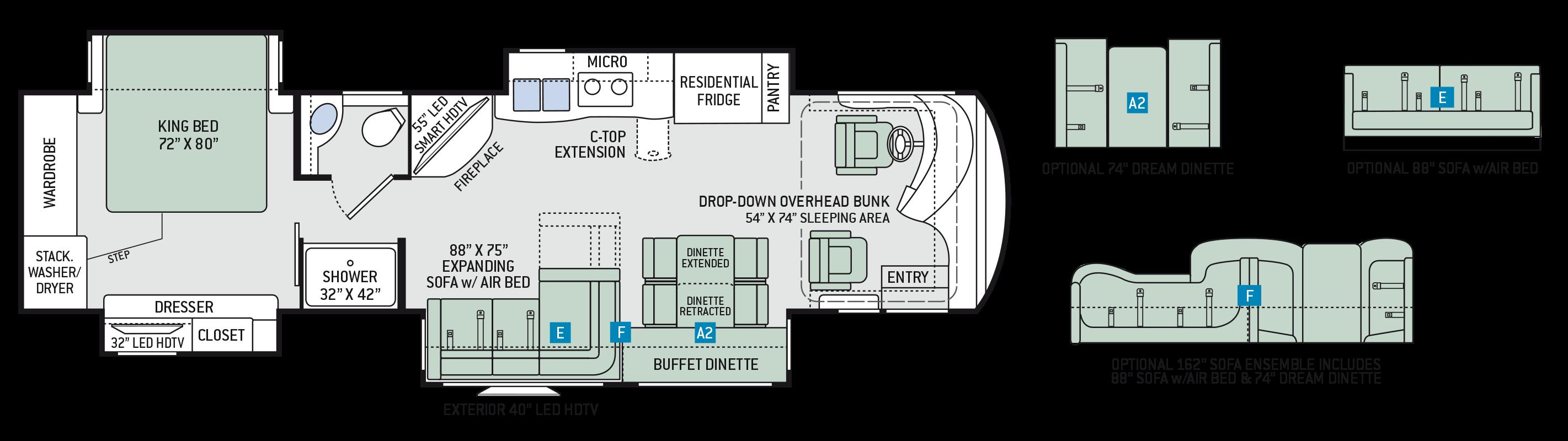 Floor plans venetian g36 for Venetian floor plan