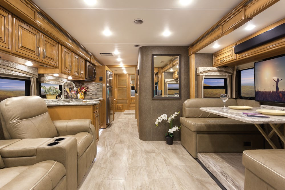 Thor Motor Coach On Full Display At Florida Rv Supershow