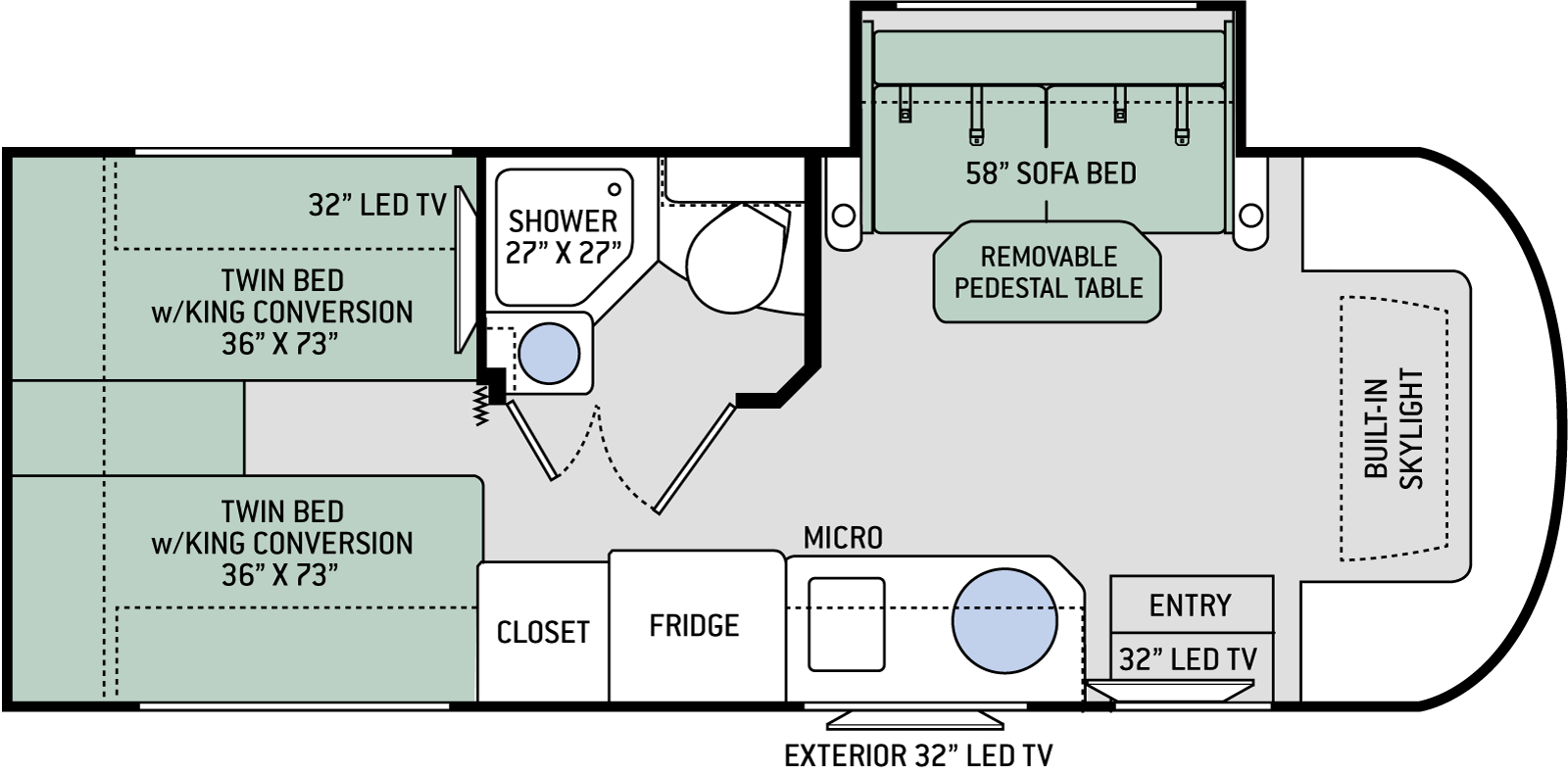 Floor Plans Citation Sprinter  24st