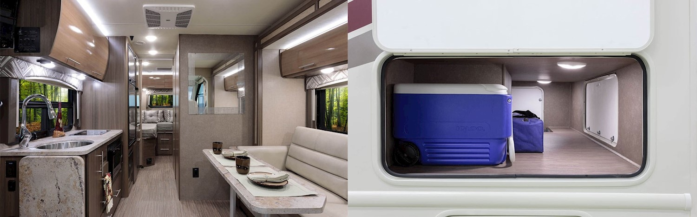 2018 Axis Interior Split Screen