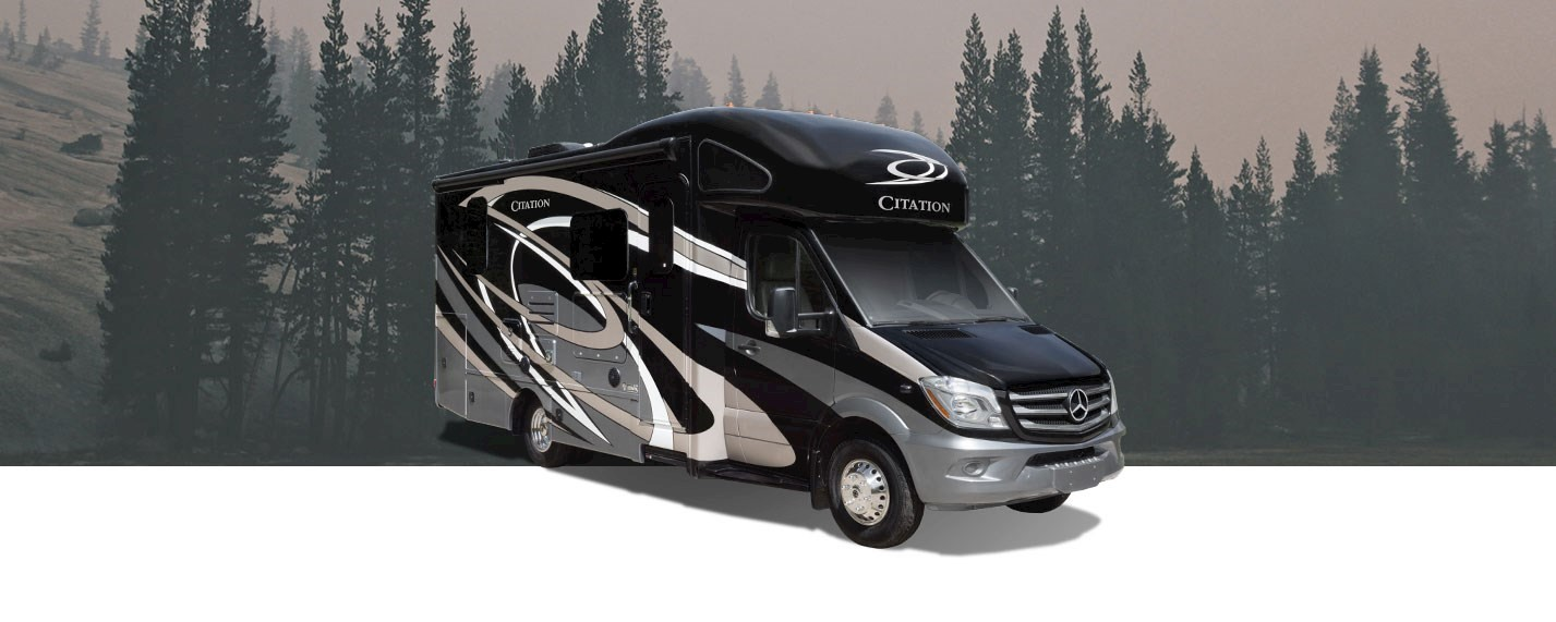 Compact Diesel RV Powered By Mercedes Benz®