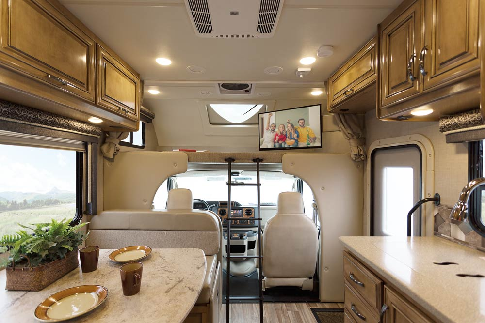 Thor Motor Coach Showcases Upscale Living In 2017 Class C Motorhomes
