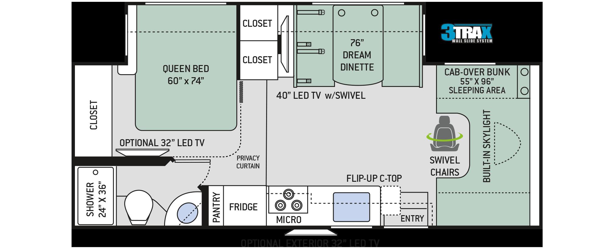 Floor Plans Quantum Rc25
