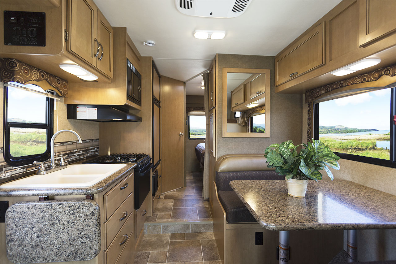 New 2016 Class C Motorhomes From TMC